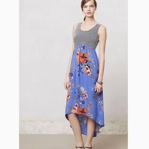 Likla Mixed Media Zelie Hi Low Dress
